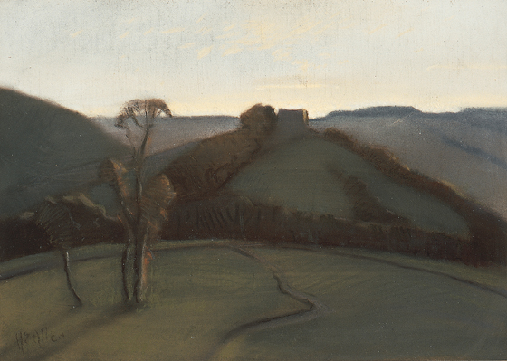 DARK HILLS by Harry Epworth Allen sold for �1,460 at Whyte's Auctions