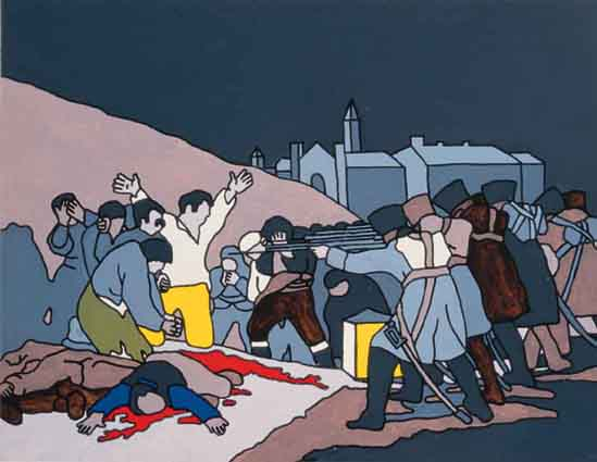 STUDY FOR THE 3RD MAY (1970) by Robert Ballagh sold for �3,047 at Whyte's Auctions