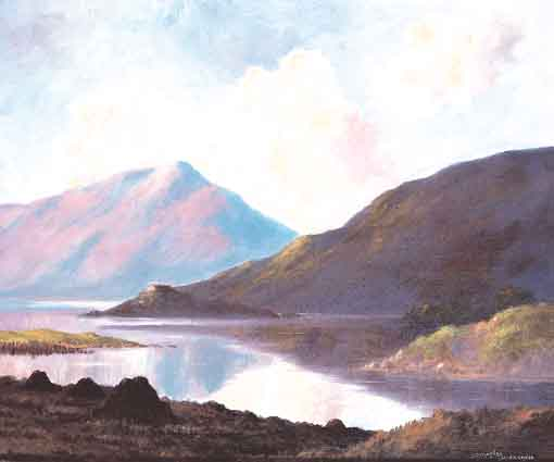 AT BALLINAHINCH CONNEMARA by Douglas Alexander sold for �2,793 at Whyte's Auctions
