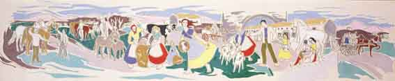 AS SHE MOVED THROUGH THE FAIR by Frances J. Kelly sold for �3,500 at Whyte's Auctions