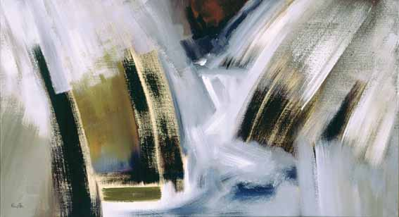 WATER DESCENT by Richard Kingston sold for �7,200 at Whyte's Auctions