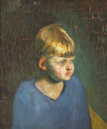STUDY OF A BOY by Roderic O'Conor sold for �2,800 at Whyte's Auctions