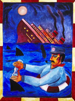 TITANTIC by Graham Knuttel sold for �7,200 at Whyte's Auctions