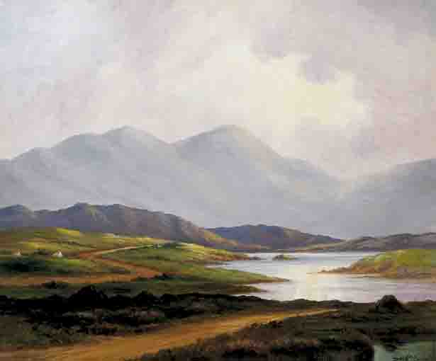 SUN BURST, WEST OF IRELAND by Douglas Alexander sold for �5,600 at Whyte's Auctions