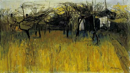 ORCHARD by Basil Blackshaw sold for �21,000 at Whyte's Auctions