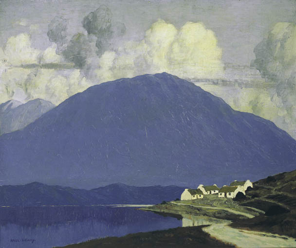 CONNEMARA LANDSCAPE, circa 1916-1919 by Paul Henry sold for �105,000 at Whyte's Auctions