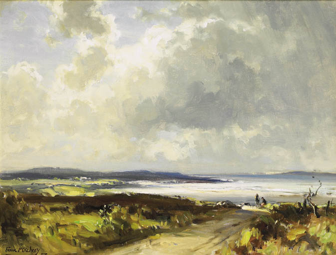 THE ROAD TO THE SEA, COAST OF DONEGAL by Frank McKelvey RHA RUA (1895-1974) at Whyte's Auctions