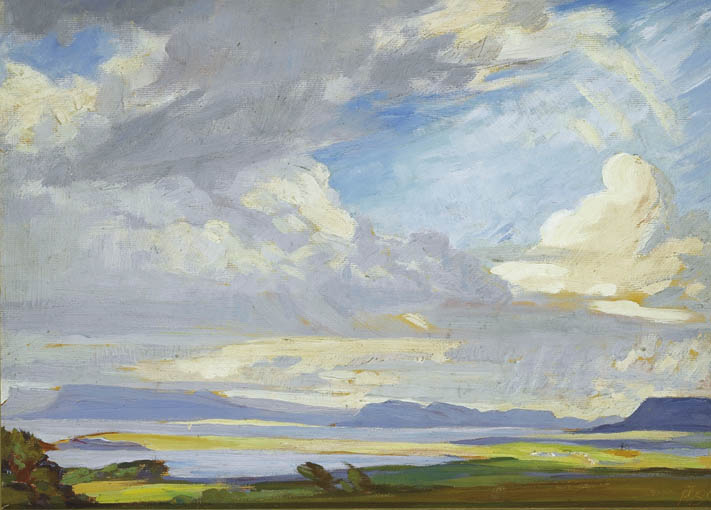 IN COUNTY SLIGO, 1944 by Rosaleen Brigid Ganly HRHA (1909-2002) at Whyte's Auctions