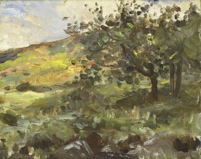 LIGHT AND SHADE by Francis J. O'Donohoe ARHA (1878-1911) at Whyte's Auctions