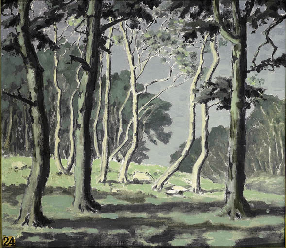 A STUDY OF TREES by Mabel Young RHA (1889-1974) RHA (1889-1974) at Whyte's Auctions