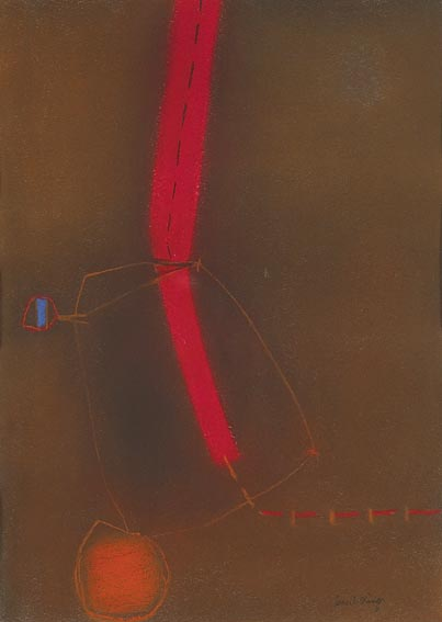 PASTEL, 1965 by Cecil King sold for �1,800 at Whyte's Auctions