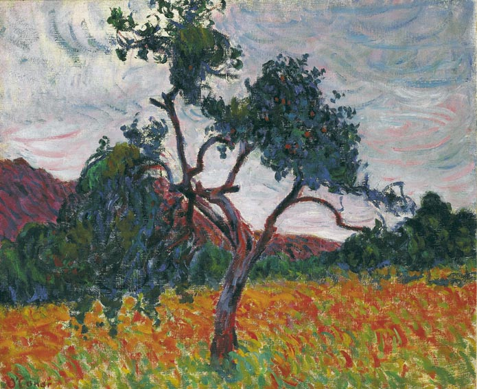 A TREE IN A FIELD by Roderic O'Conor sold for �195,000 at Whyte's Auctions
