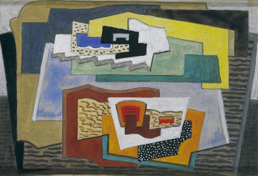 ABSTRACT COMPOSITION, 1925 by Mainie Jellett sold for �7,000 at Whyte's Auctions
