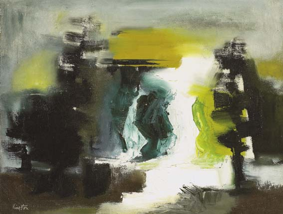 WATERFALL by Richard Kingston sold for �2,300 at Whyte's Auctions