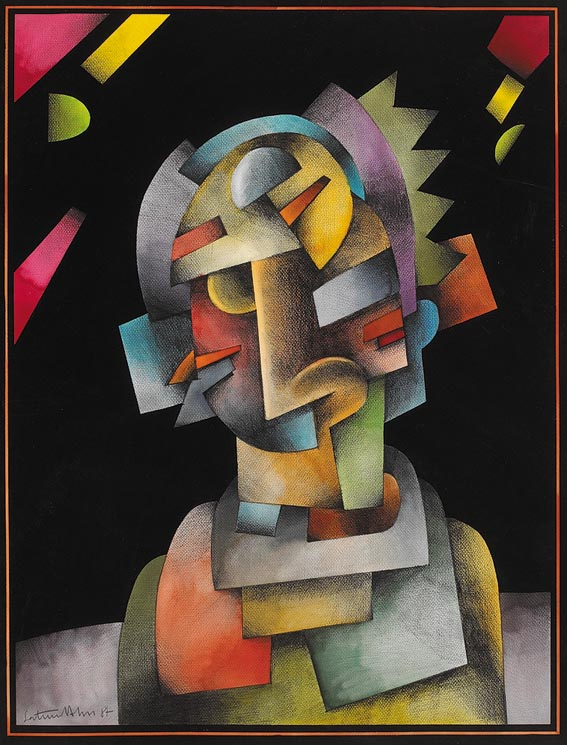 GEOMETRIC HEAD by Saturio Alonso sold for �850 at Whyte's Auctions