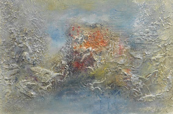 ABSTRACTED LANDSCAPE by Richard Kingston sold for �2,200 at Whyte's Auctions