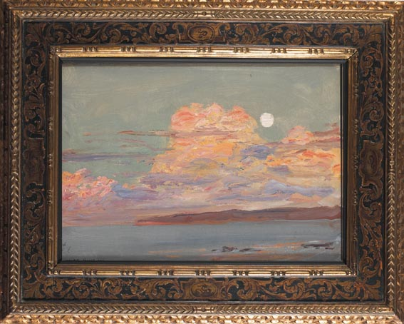 MOONRISE TANGIER BAY by Sir John Lavery sold for �24,000 at Whyte's Auctions