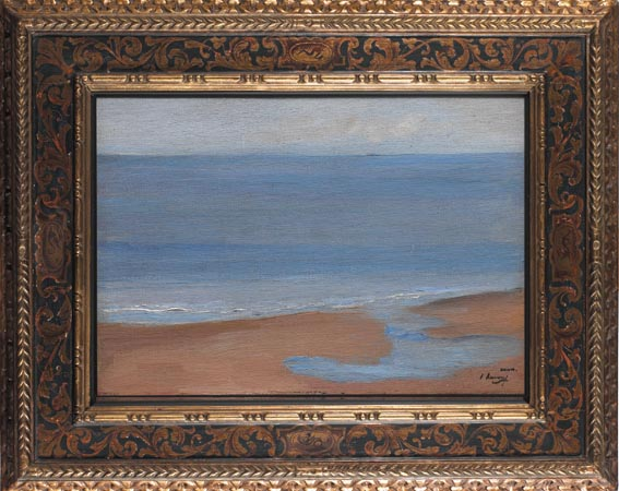 "DAWN, WHERE ""THE JEWS RIVER"" JOINS THE SEA by Sir John Lavery sold for �23,000 at Whyte's Auctions"