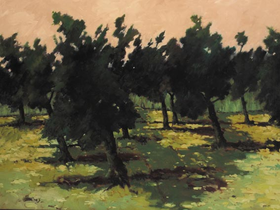 OLIVE GROVE, SAN PASSIGNANO by Robert T. Killen sold for �3,200 at Whyte's Auctions
