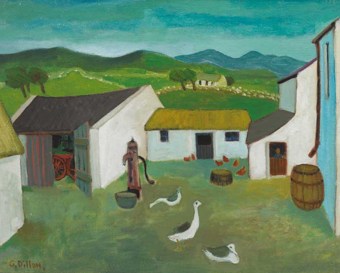 INISHLACKEN by Gerard Dillon sold for �25,000 at Whyte's Auctions