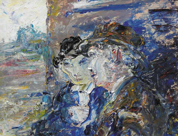 THE COMFORTER, 1952 by Jack Butler Yeats sold for �240,000 at Whyte's Auctions