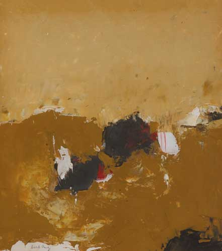 ABSTRACT by Cecil King sold for �1,000 at Whyte's Auctions