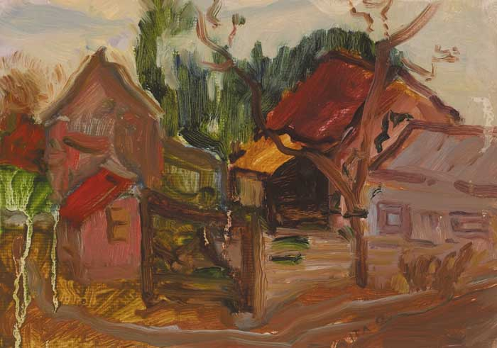 FARMYARD VIRGINIA by Ita Quilligan sold for �220 at Whyte's Auctions