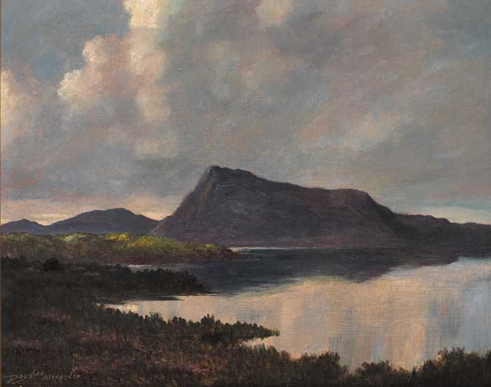 MUCKISH MOUNTAIN, DONEGAL by Douglas Alexander sold for �2,300 at Whyte's Auctions