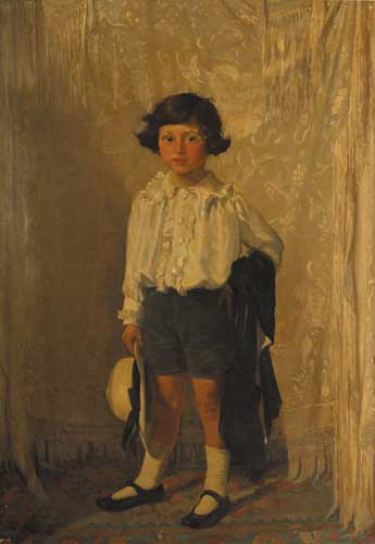 PORTRAIT OF A LITTLE BOY, circa 1918-19 by Margaret Clarke (née Crilley) sold for €9,500 at Whyte's Auctions