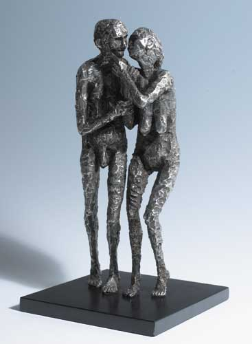 OLD COUPLE II, 1979 by Rowan Gillespie sold for �5,000 at Whyte's Auctions