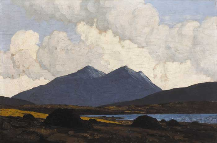 IN THE WEST OF IRELAND, circa 1934 by Paul Henry sold for �130,000 at Whyte's Auctions