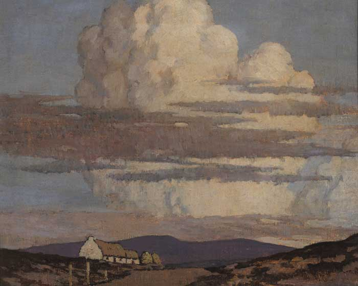 THE BLUE MOUNTAINS, COUNTY DONEGAL circa 1929-34 by Paul Henry sold for �105,000 at Whyte's Auctions