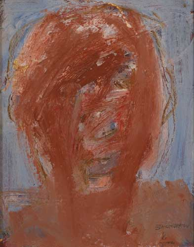 HEAD OF A BOXER by Basil Blackshaw sold for �14,500 at Whyte's Auctions