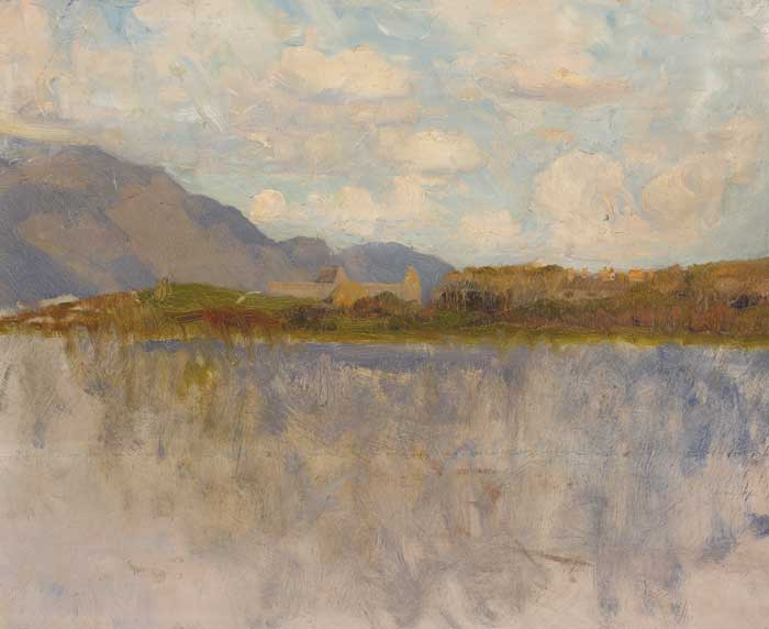 A LAKE IN CONNEMARA by Walter Frederick Osborne sold for �12,000 at Whyte's Auctions