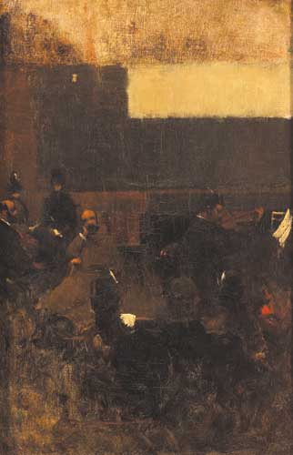 THE CONCERT by Walter Frederick Osborne sold for �5,700 at Whyte's Auctions