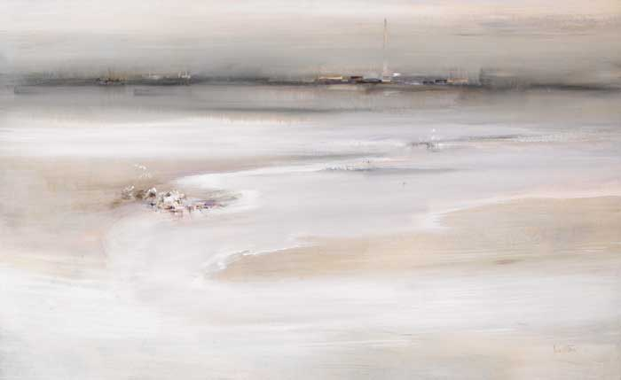 MERRION STRAND LOOKING TOWARDS RINGSEND by Richard Kingston sold for �17,000 at Whyte's Auctions