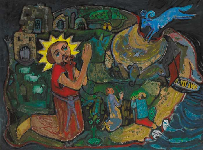 THE HOLY ISLAND by Gerard Dillon sold for �36,000 at Whyte's Auctions