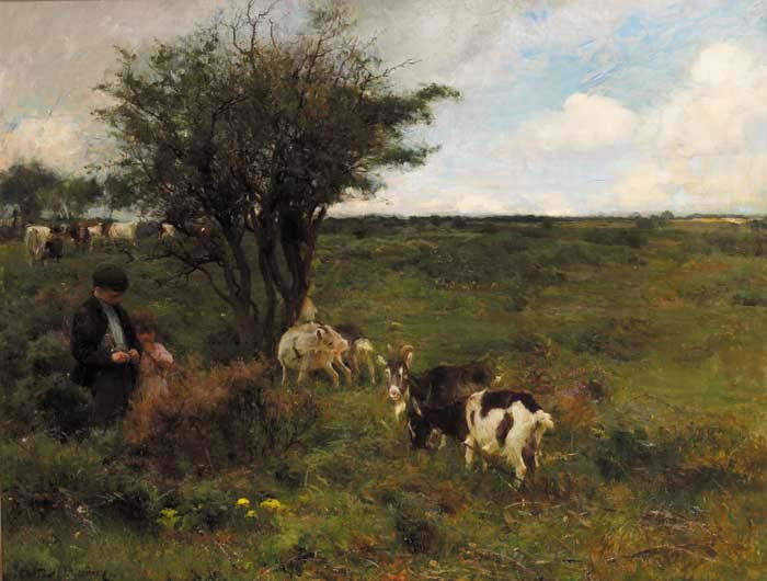 THE THORNBUSH, 1894 by Walter Frederick Osborne sold for �400,000 at Whyte's Auctions