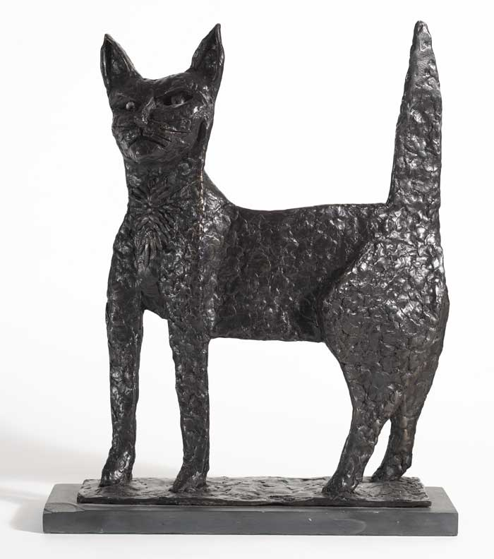 CAT by Graham Knuttel sold for �5,500 at Whyte's Auctions