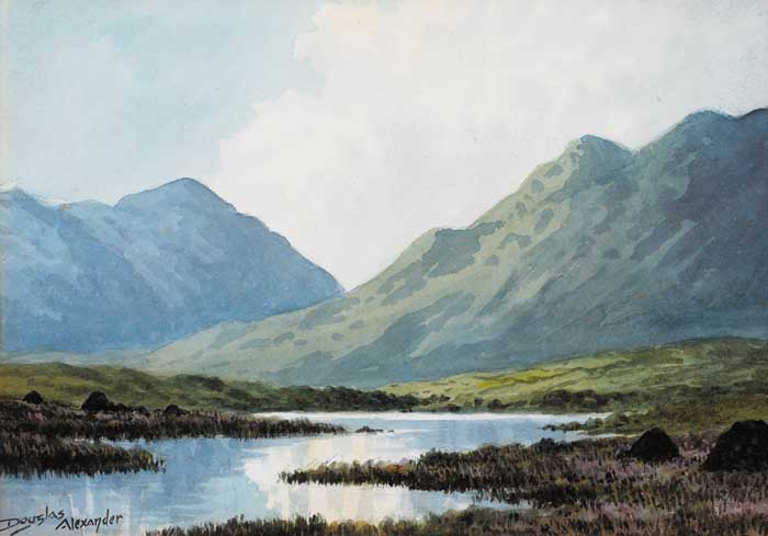 NEAR LOUISBERG, CONNEMARA by Douglas Alexander sold for �1,100 at Whyte's Auctions