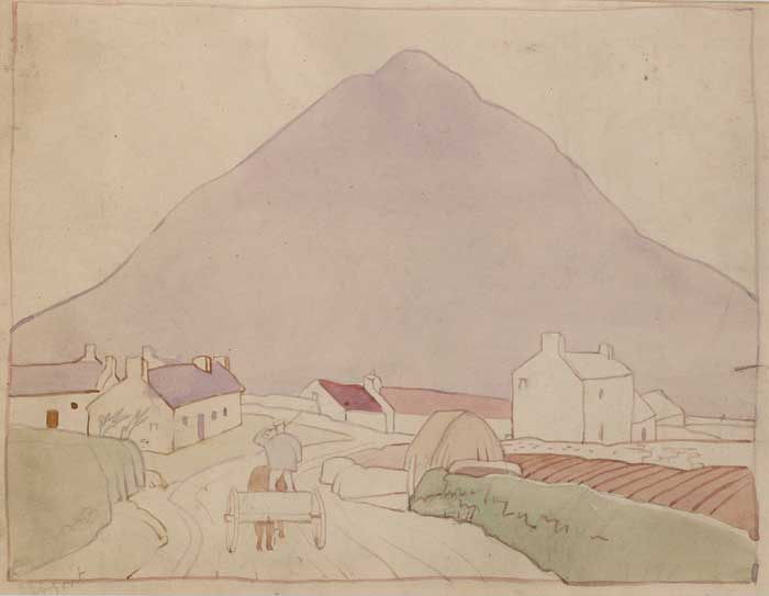 SLIEVEMORE, EIRE by Harry Epworth Allen sold for �1,600 at Whyte's Auctions