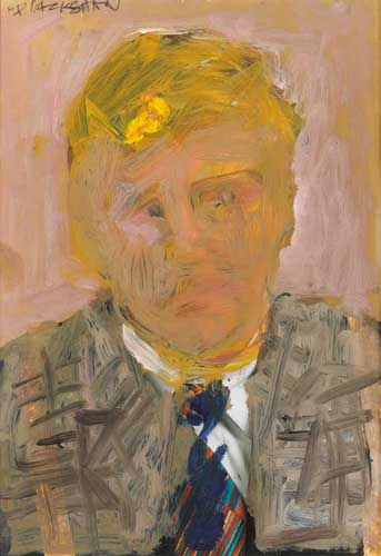 AMERICAN GENT by Basil Blackshaw sold for �9,000 at Whyte's Auctions
