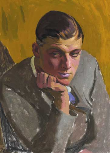 PORTRAIT OF JAMES BOTTERELL, 1926 by William John Leech sold for �12,000 at Whyte's Auctions