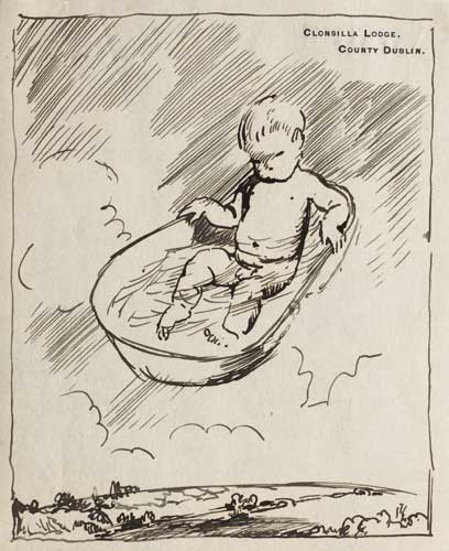 THE BATHTUB, circa 1908-09 by Sir William Orpen sold for �1,900 at Whyte's Auctions