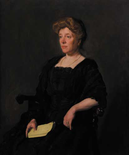 PORTRAIT OF AMY MAUD STEEL by Sir Gerald Festus Kelly sold for �6,000 at Whyte's Auctions