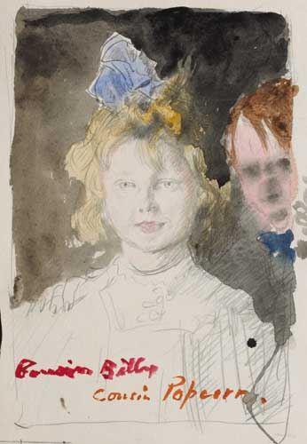 COUSIN BILLY AND COUSIN POPCORN by Sir William Orpen sold for �4,600 at Whyte's Auctions