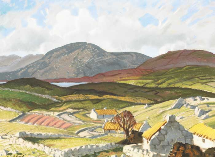 CONNEMARA LANDSCAPE by Harry Epworth Allen sold for �3,000 at Whyte's Auctions