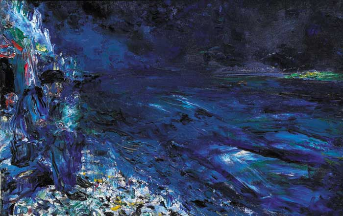 RIVER MOUTH, 1946 by Jack Butler Yeats sold for �205,000 at Whyte's Auctions