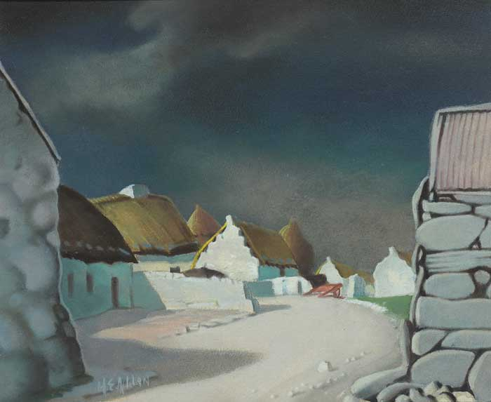 BALLINDOOLY, COUNTY GALWAY by Harry Epworth Allen sold for �3,000 at Whyte's Auctions