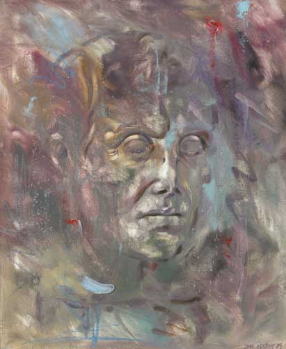 STUDY FROM THE GREEK, 1989 by John Keating (b.1953) at Whyte's Auctions